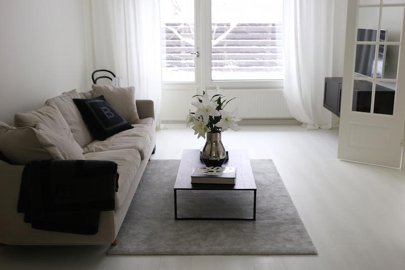 Homevialaura, olohuone, VM Carpet, Hattara, harmaa, nukkamatto