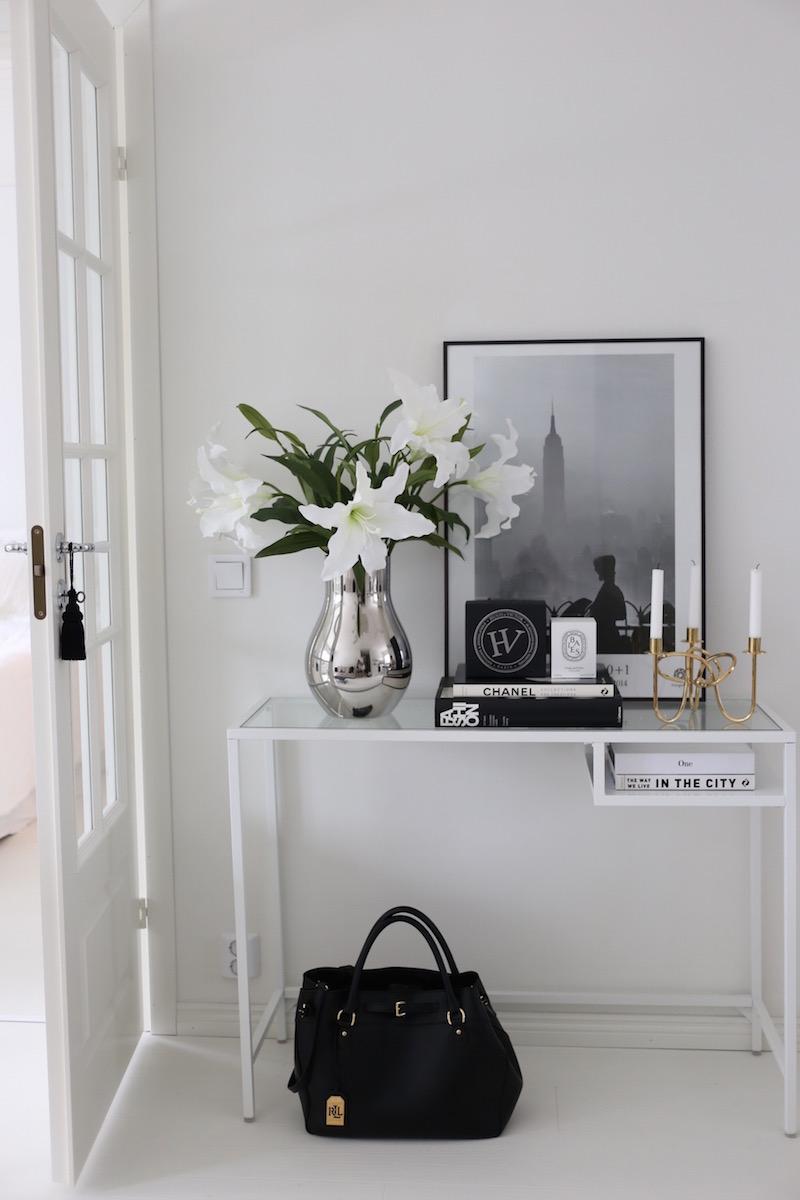 Homevialaura, Ikea Vittsjö, sivupöytä, Fotografiska, juliste