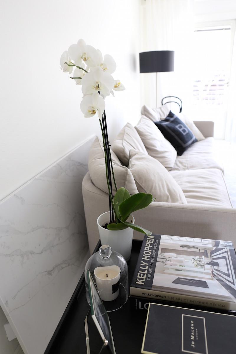 Homevialaura, olohuone, marmori, pöytälevy, Design by Frandsen Nice, jalkavalaisin