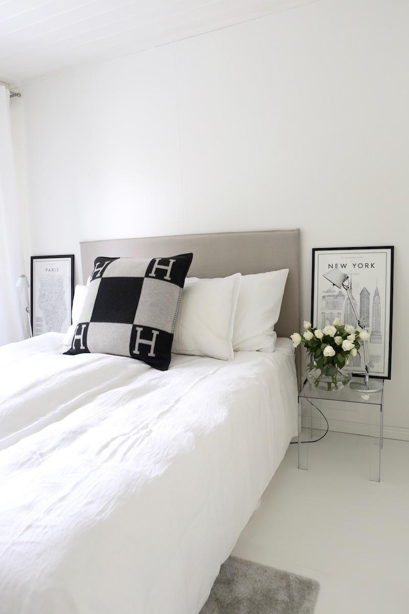 Homevialaura, sängynpääty, vuoteenpääty, Matri by Fennobed, Slim, Caleido, makuuhuoneen sisustus