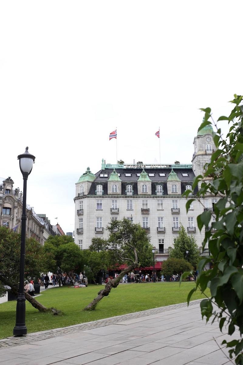 Homevialaura, Oslo, kokemuksia, matkaopas, Grand Hotel