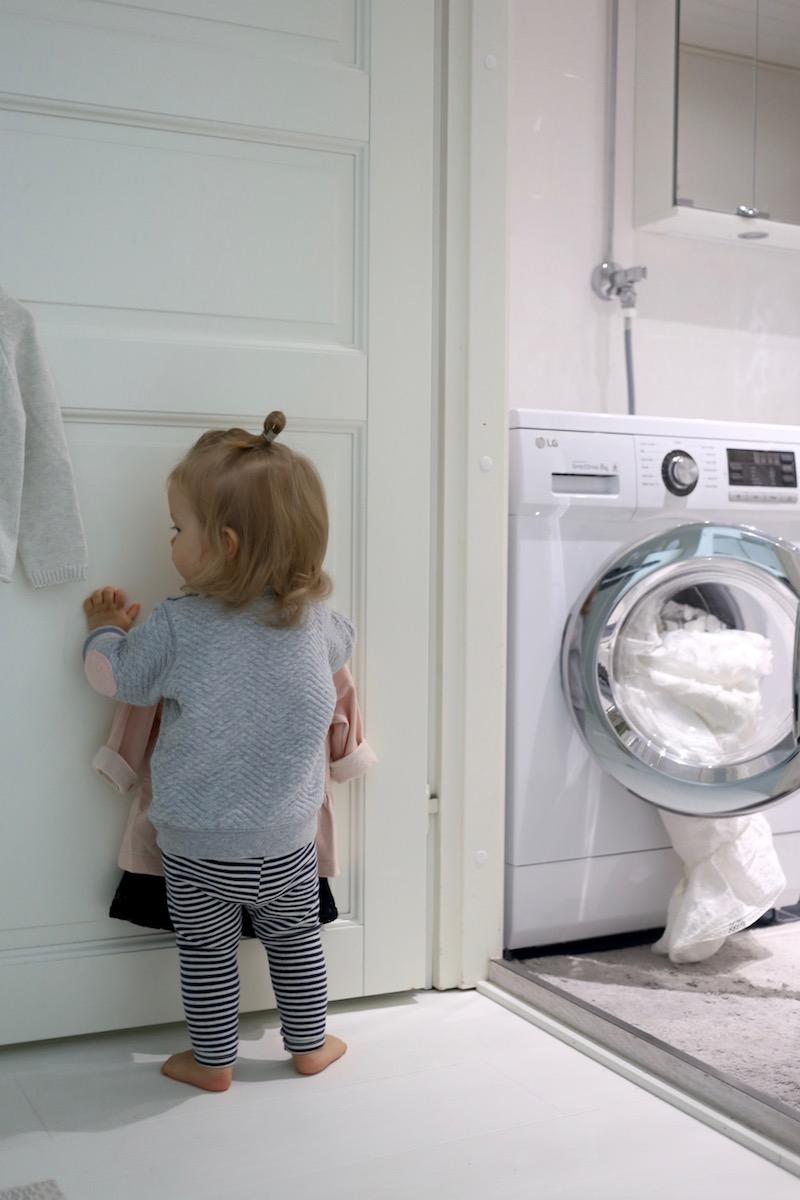 Homevialaura, kotityöt, pyykinpesu