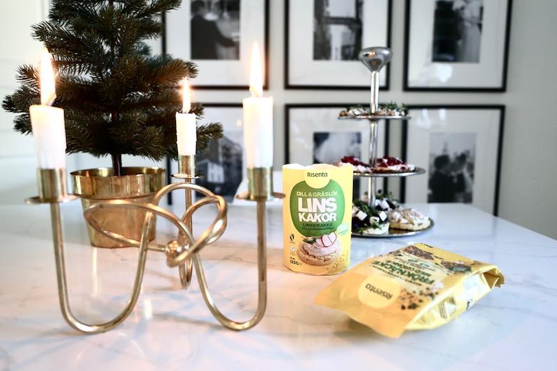 Homevialaura, joulutarjoilut, pikkujoulun menu, cocktail-palat, Risenta
