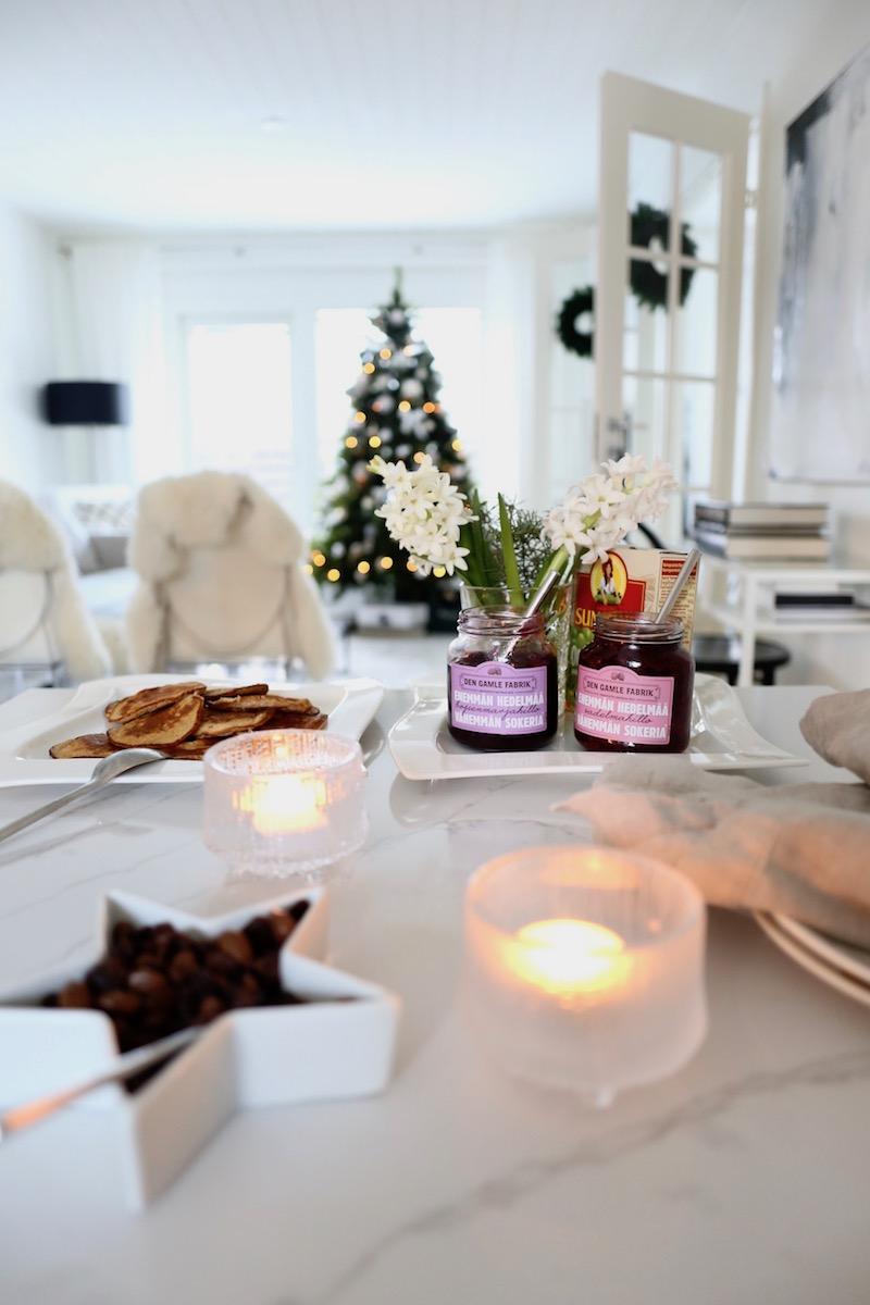 Joulun terveelliset aamiaispannarit