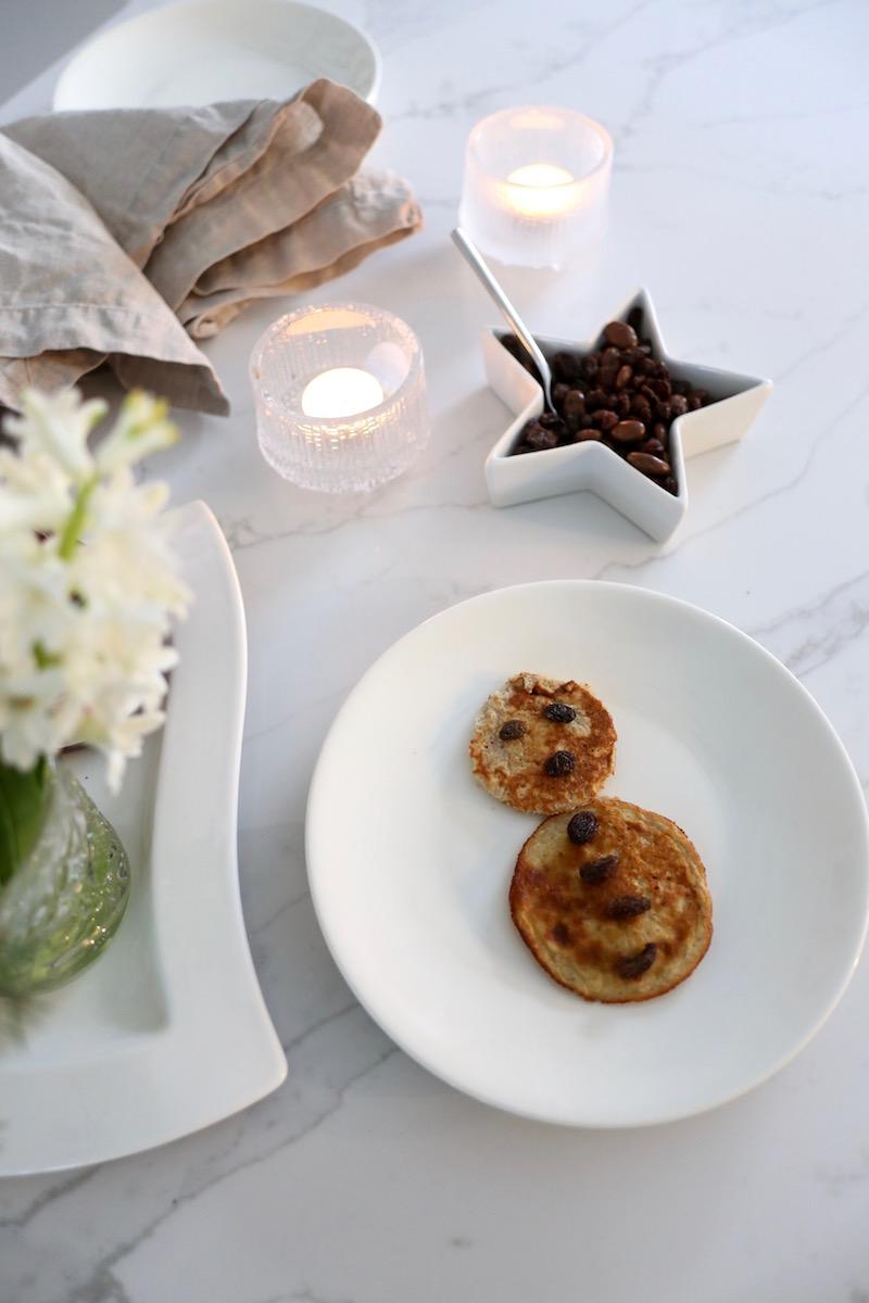Homevialaura, joulun terveelliset pannarit, resepti, Sun-Maid, rusinat