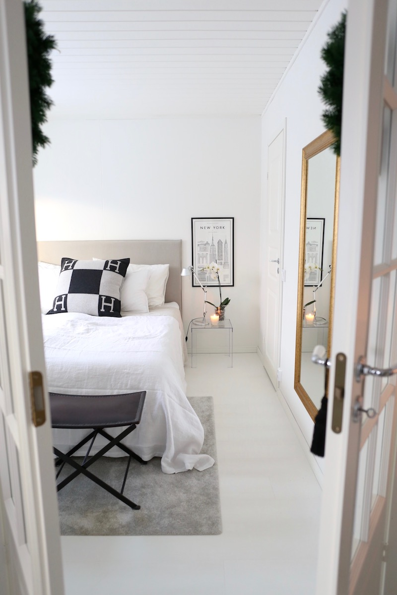 Homevialaura, makuuhuone, petaus, päiväpeitto, Balmuir