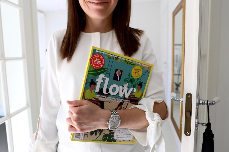 Homevialaura, lukeminen, Flow, lehti
