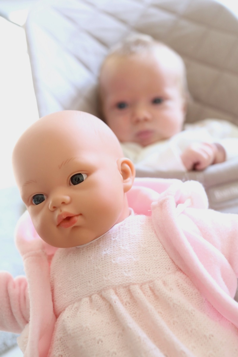 Homevialaura, lastenhuone, vauva, nukke