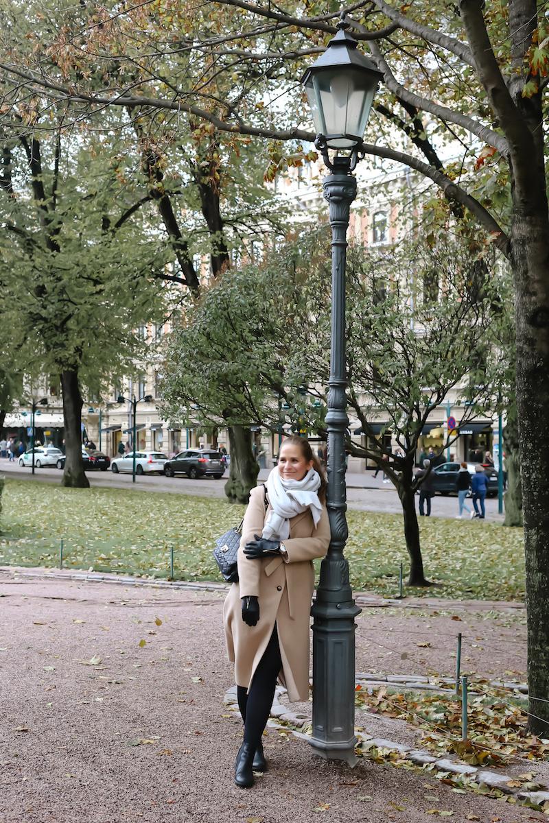 Homevialaura, syksyinen Helsinki