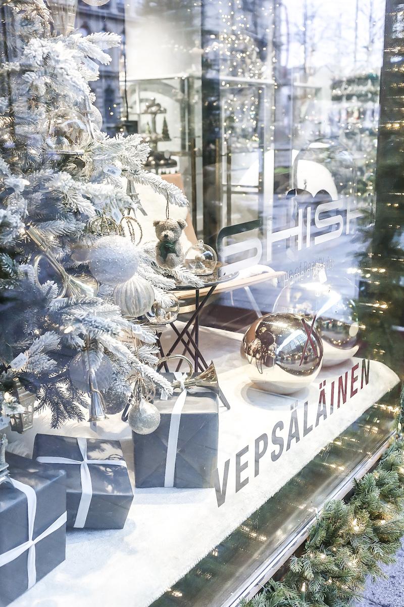 Homevialaura, Shishi, Vepsäläinen, joulukoristeet, pop-up, Citycenter, Keskuskatu, Helsinki