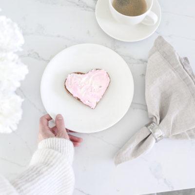 Ystävänpäivän sydänleivät