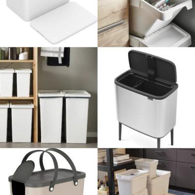 #Kaunisjärjestys suosittelee: 6 x kierrätysastia