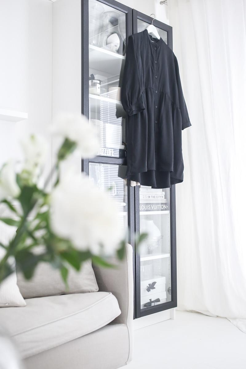 Homevialaura, Gauhar Helsinki Shirt Dress, musta mekko