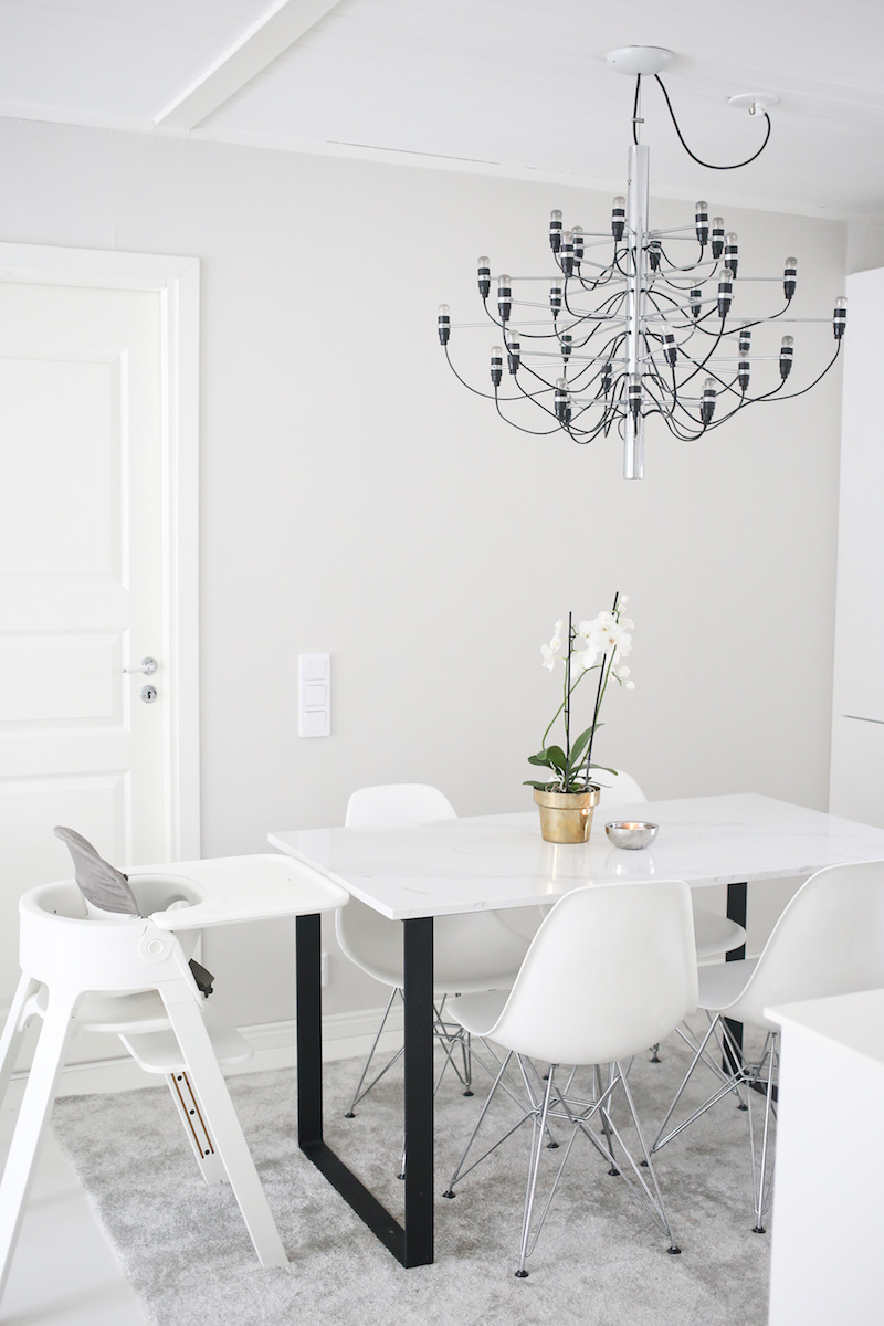 Homevialaura, seinien maalaus, harmaat seinät