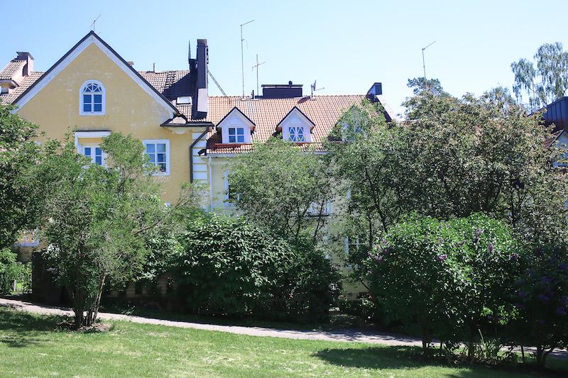 Homevialaura, juhannus Helsingissä, Kulosaari, Ribbinginhovi, Ribbingshof