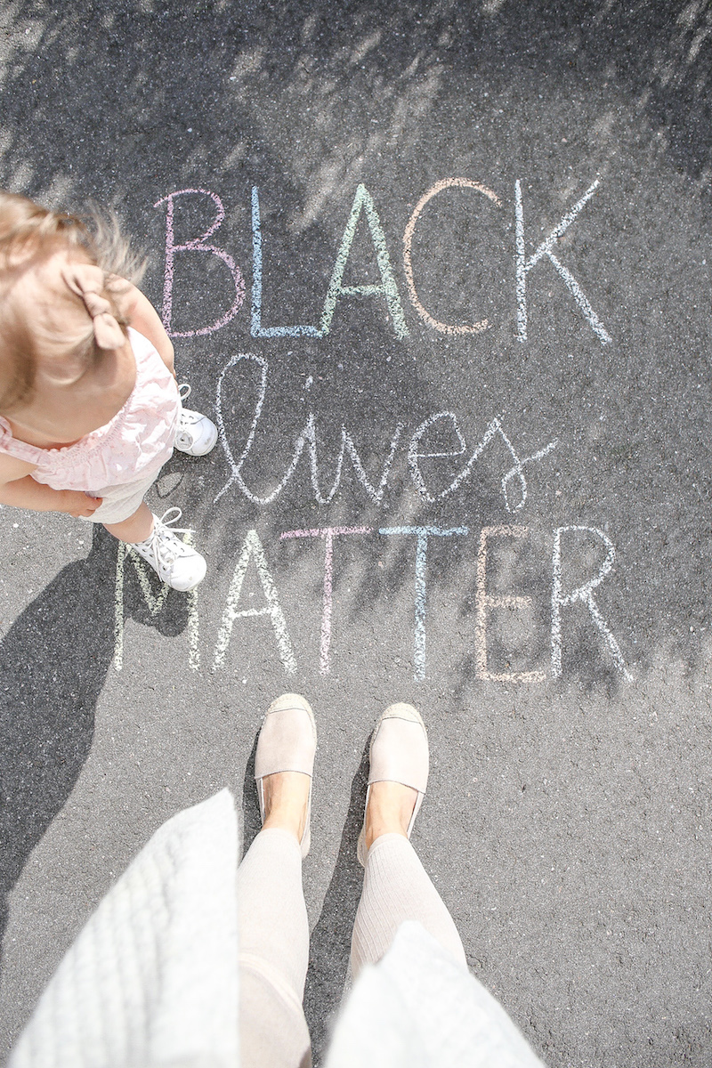 Homevialaura, antirasistinen kasvatus ja vanhemmuus, Black lives matter