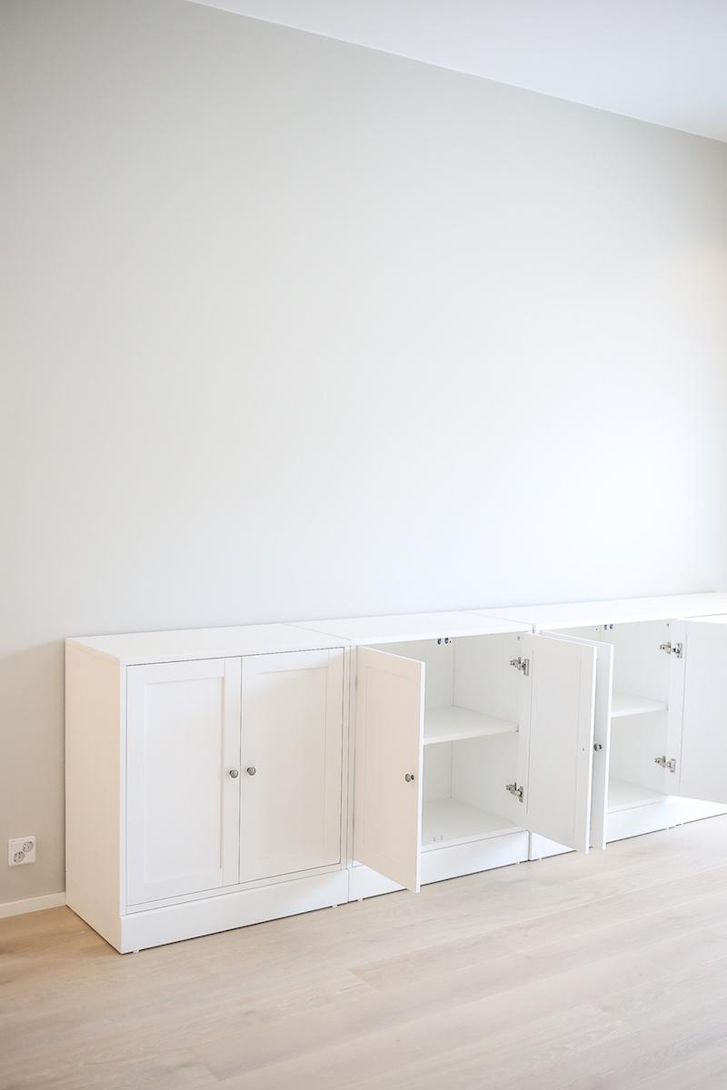 Homevialaura, IKEA HAVSTA, tv-taso, kaappi