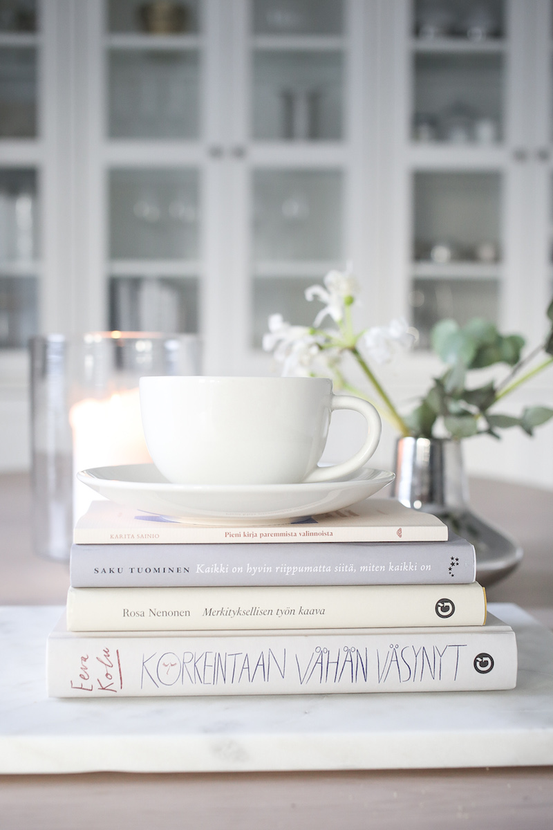 Homevialaura, hyvän elämän kirjat, syksy 2020