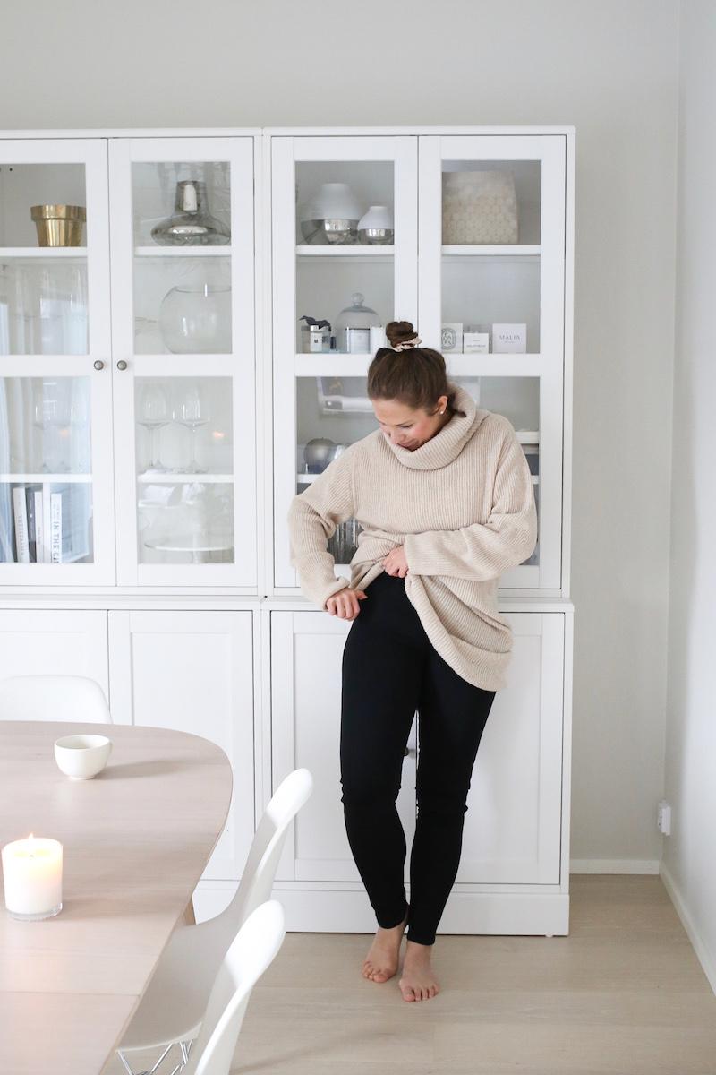 Homevialaura, Pura Finland, neulemekko. Pura Jeans -farkut, kotimaiset vaatteet