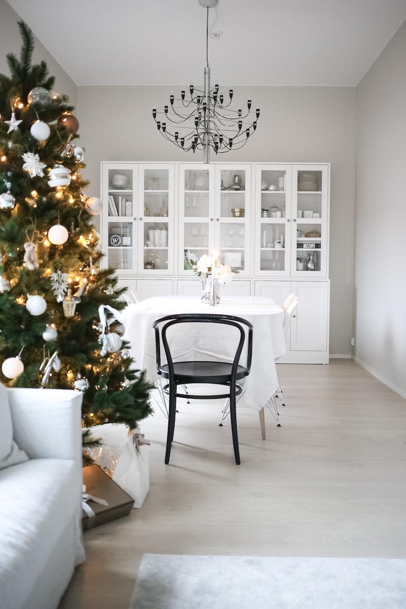 Homevialaura, joulukoti, joulukuusi, joulukoristeet