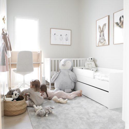 Ava Room Kids -lastensänky säilytystilalla