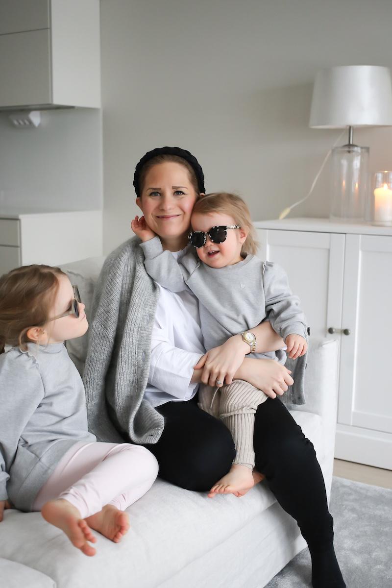 Homevialaura, Gauhar Helsinki, Gauhar Kids, seersucker tunika, mohairneule