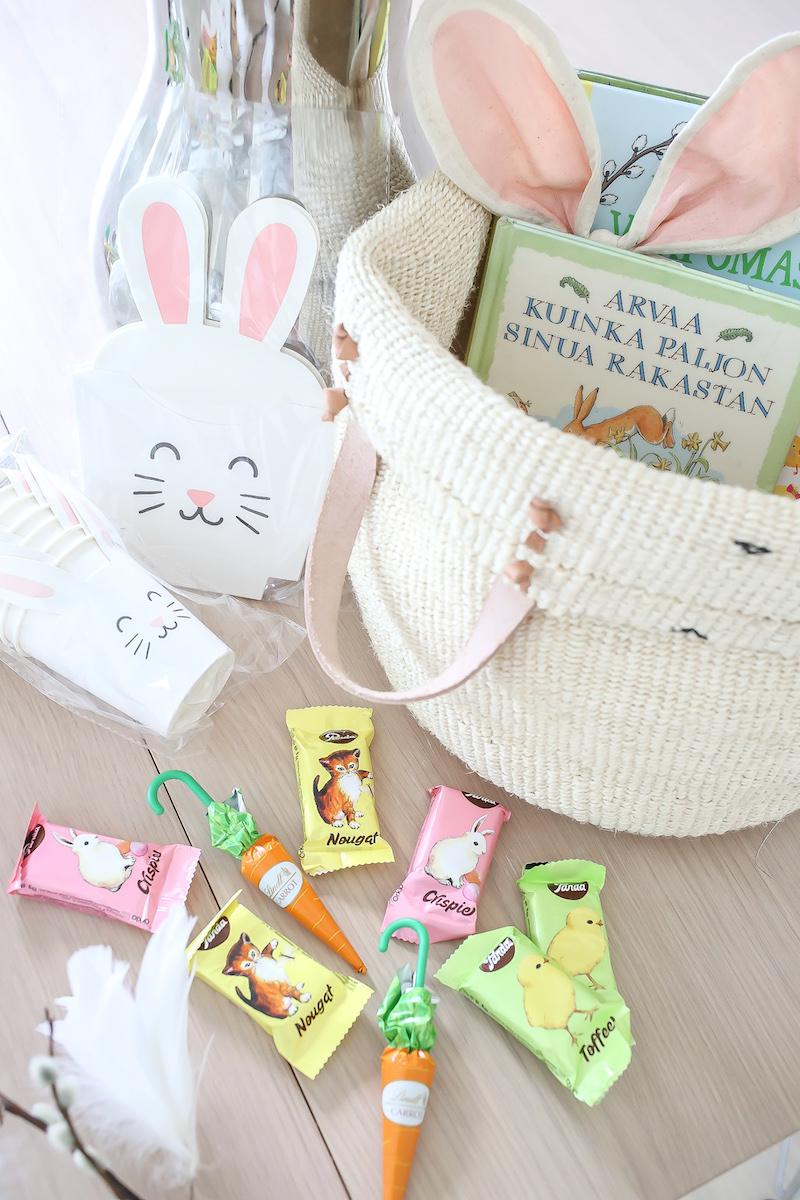 Homevialaura, Easter Basket, pääsiäiskori lapsille