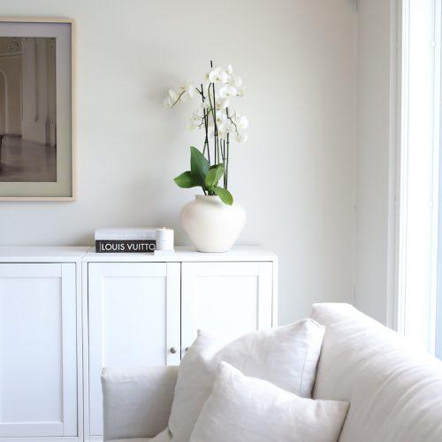 Hotellitunnelman tavoittelijan orkidea-asetelma