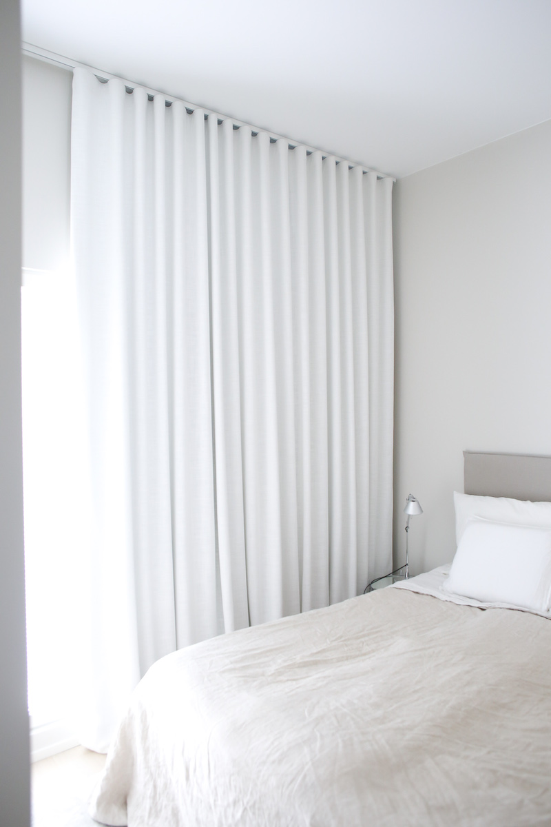 Homevialaura, Eurokangas, pimennysverhot, makuuhuoneen verhot