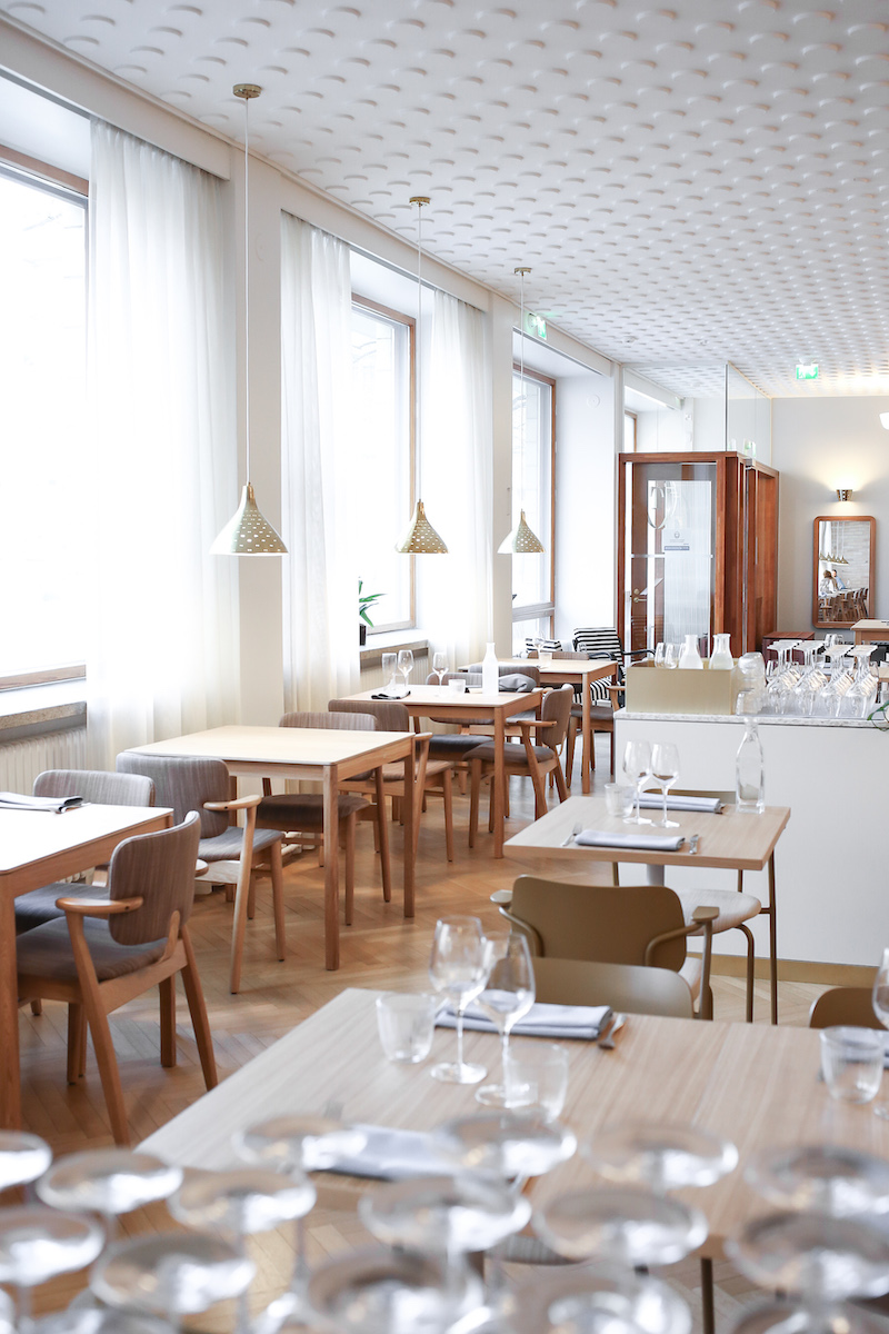 Homevialaura, Ravintola Töölö