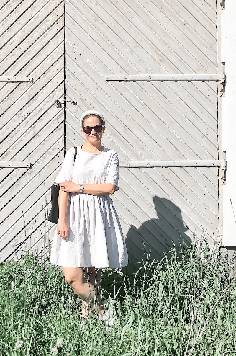 Homevialaura, Gauhar Helsinki, Gemelle Hanko Dress, beige mekko