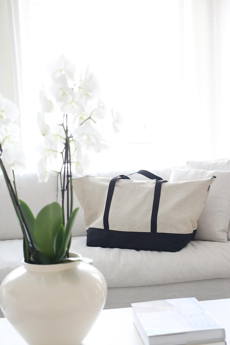 Homevialaura, Iloa Reilu, iso laukku, weekender, Ikea-kassi