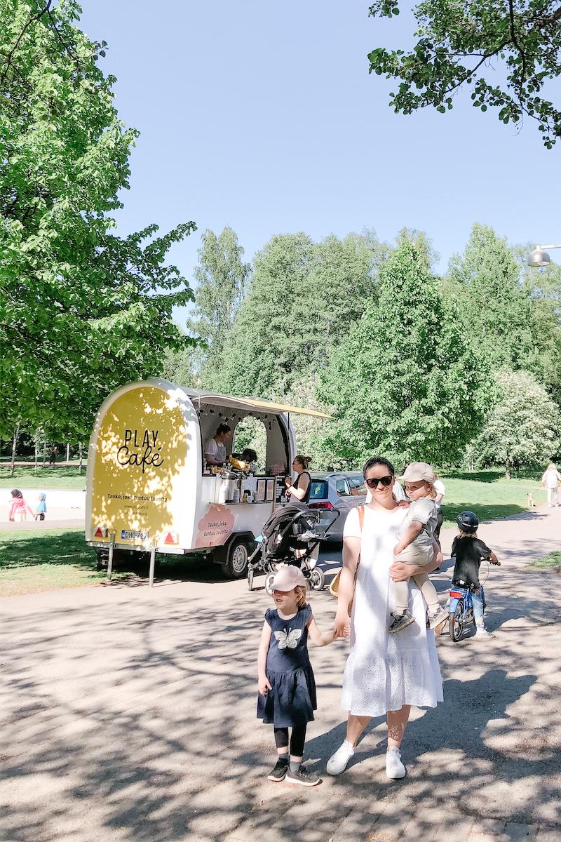 Homevialaura, Play Cafe Park, leikkipuistokahvila, Helsinki